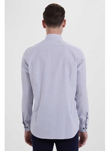 Hatem Saykı Gömlek Mavi